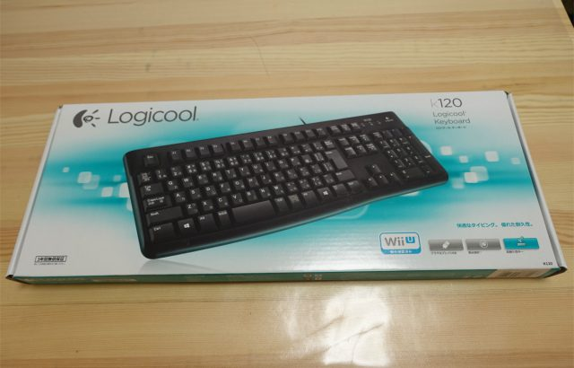 ロジクールのキーボードK120レビュー<選んだポイント>